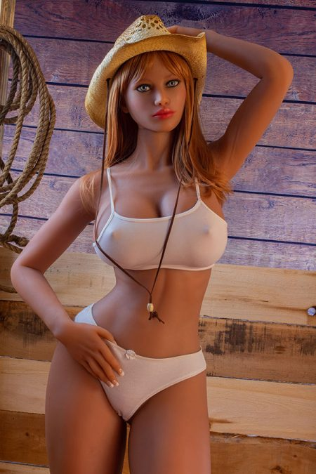 100cm High Quality Real Silicone Sex Dolls Cowboy Girl