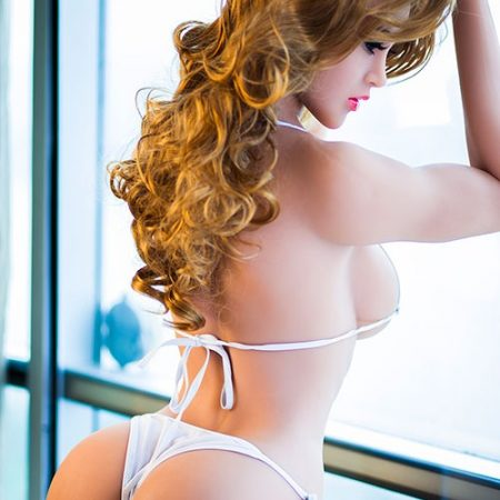 165cm D Cup Breasts Blonde Curly Mature Sex Doll-natalie