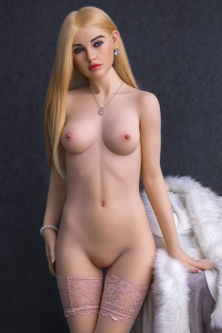 158cm Realistic Makeup Real Body Silicone Sex Doll