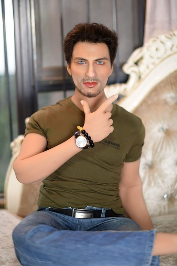 180cm Realistic Muscular Male Sex Doll For Women