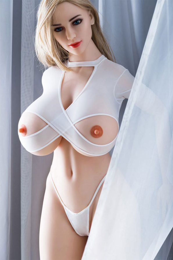 Victoria Real Love Silicone Glamour Sexy Blonde Huge Tit Sex Doll