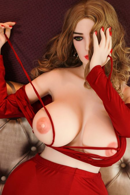 152cm Big Breasts Bbw Sex Doll Red Dress - Doreen