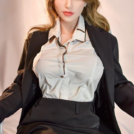 165cm Hot Sale Blonde Real Vagina Adult Mature Sex Doll - Lucy
