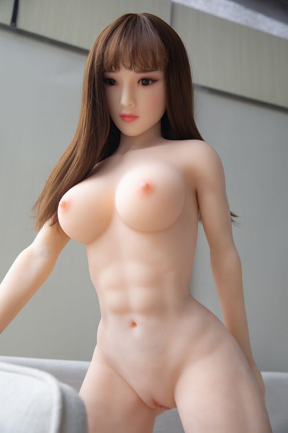 160cm Asian Real Vagina Muscular Sex Doll – Blanche