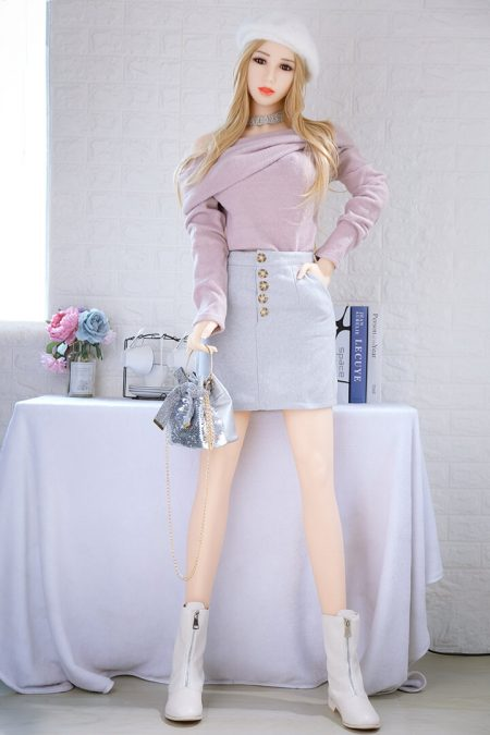 165cm Real Korean Blonde Sex Doll - Alisa