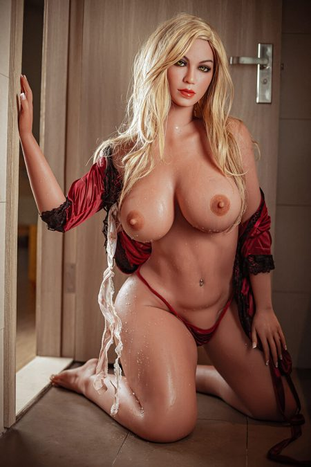 160cm Sexy Premium Blonde Hair Bbw Sex Doll - Brenda