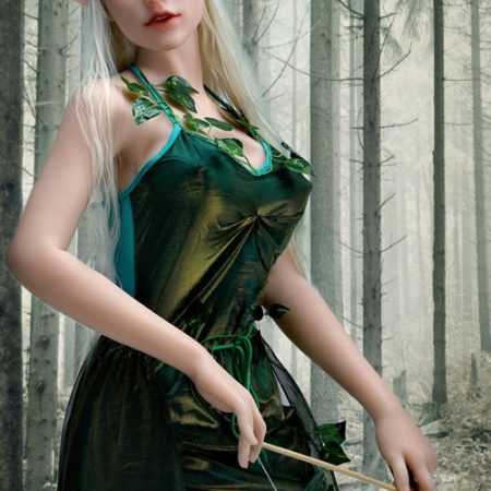 160cm Green Eyes Elf Silicone Sex Dolls Sanhui Lifelike