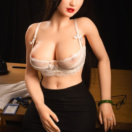 160cm Office Sexy Lady Asian Sex Dolls Nettie Sino Brand Silicone