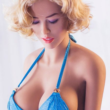 158cm Cornelia Sexy Middle Breast Blonde Sex Dolls Closed