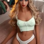158cm Young Cheap Blue Eyes Silicone Sex Dolls Real - Samantha
