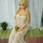 160cm Blonde WM Brand Pink Plait Teen Sex Doll Nipple - Emily