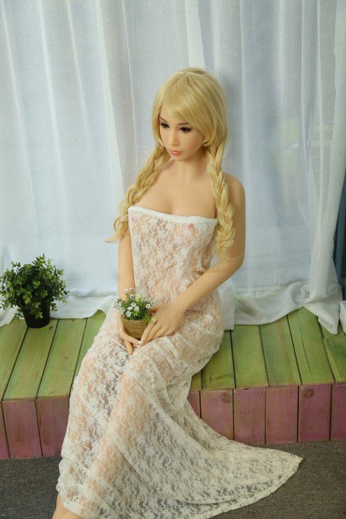 160cm Blonde WM Brand Pink Plait Teen Sex Doll Nipple – Emily