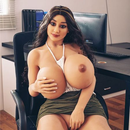 Jojo : 140cm curly hair H cup huge breasts TPE sexy love dolls