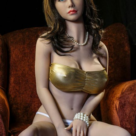 Liz : 150cm brown hair sexy big breasts real cheap sex doll