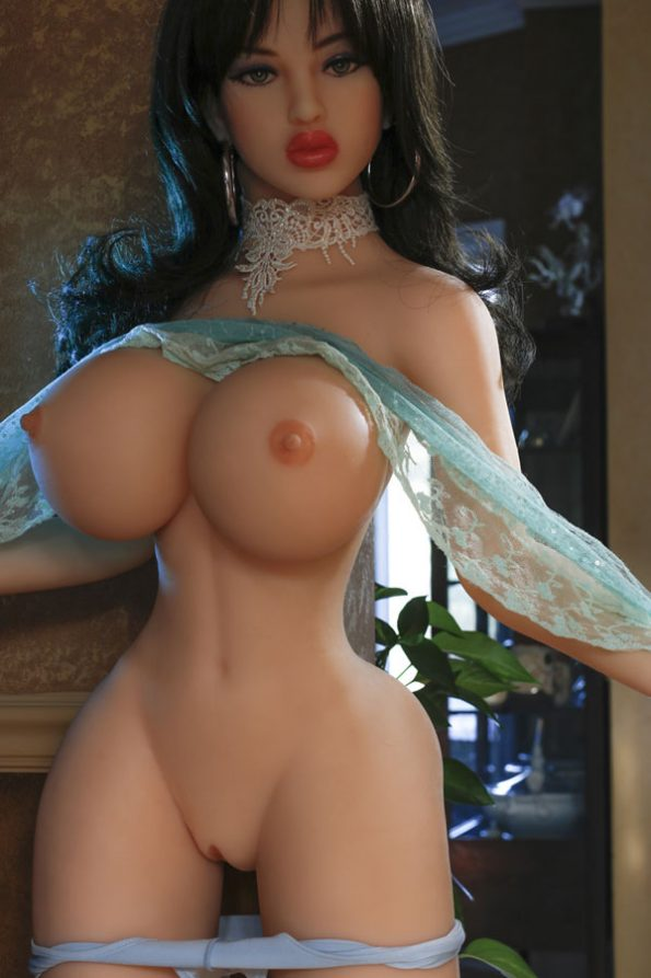 Julia : high-end cheap big ass sexy huge breast sex doll 153cm