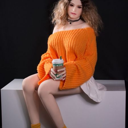 Camila : mature curly woman big breasted sexy sex dolls 160cm