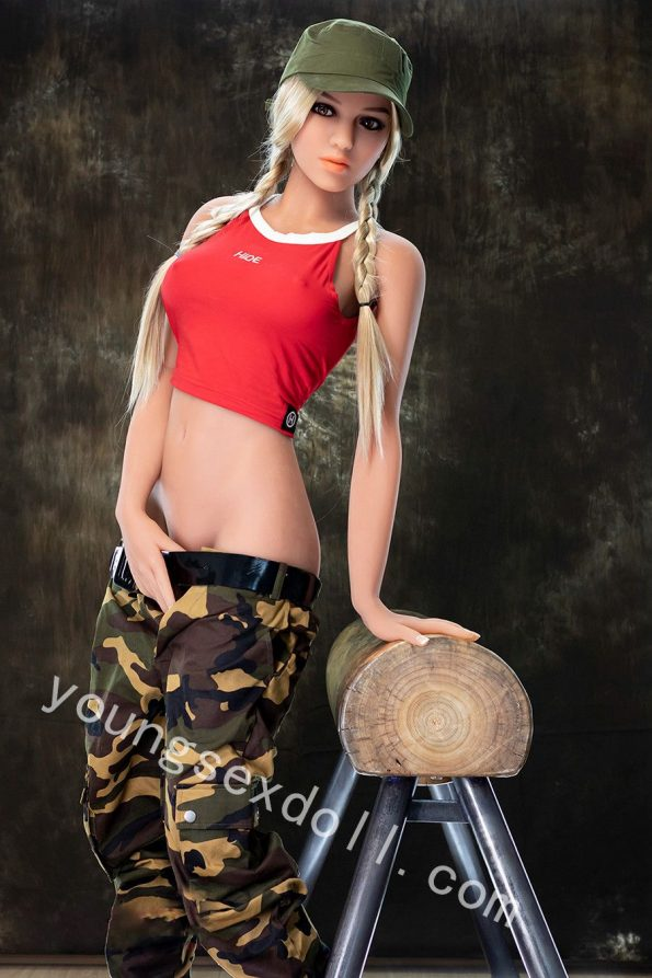 Cool And Handsome Blonde Full Body Female Sex Doll For Men