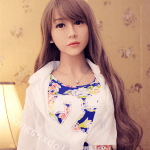 Gentle Long Hair Floral Skirt And Light Shirt Coat Female Doll