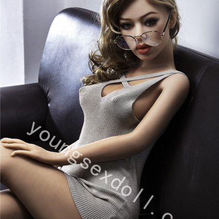 Beautiful Full Body Female Sex Doll With Glasses