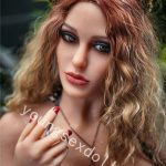 Tpe Female Sex Doll With Big Breasts And Charming Leopard Print Clothes