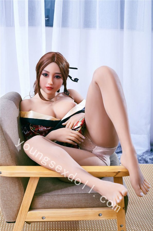 Realistic Sex Doll With Golden Skin In Antique Costume