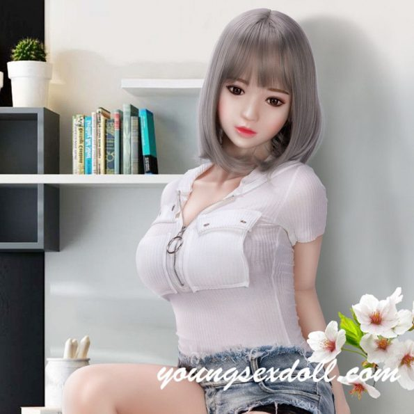 Cute Sensual Big Tits Grey Haired Student Blonde Sex Doll