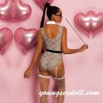 Transparent Mesh Lace Sexy Sex Doll Clothes