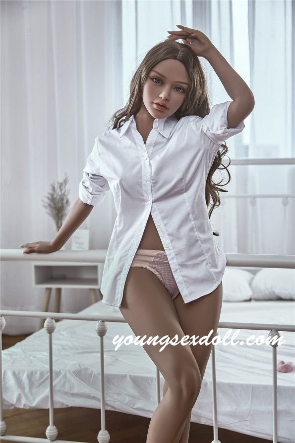 150cm Ada Brown Hair Small And Beautiful Black Sex Doll