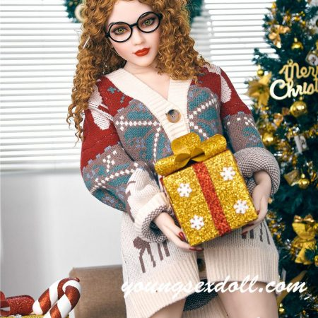 150cm Camille Brown Hair Festive Cute And Beautiful Blonde Sex Doll