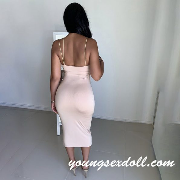 Sling Open Back Show Chest Skirt Sex Doll Clothes