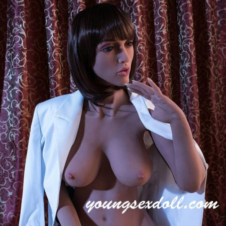 163cm Brown Short Hair Big Breast Big Cock Shemale Sex Doll