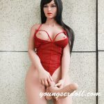 162cm Black Long Hair Big Breasts And Thick Cock Shemale Sex Doll